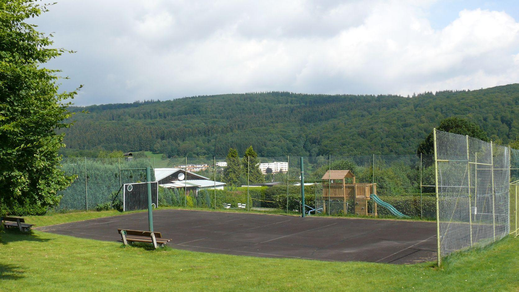 Volleyballplatz der FSG Siegen